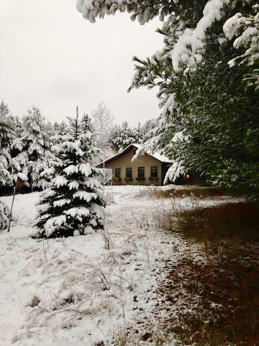 First snowfall November 2017