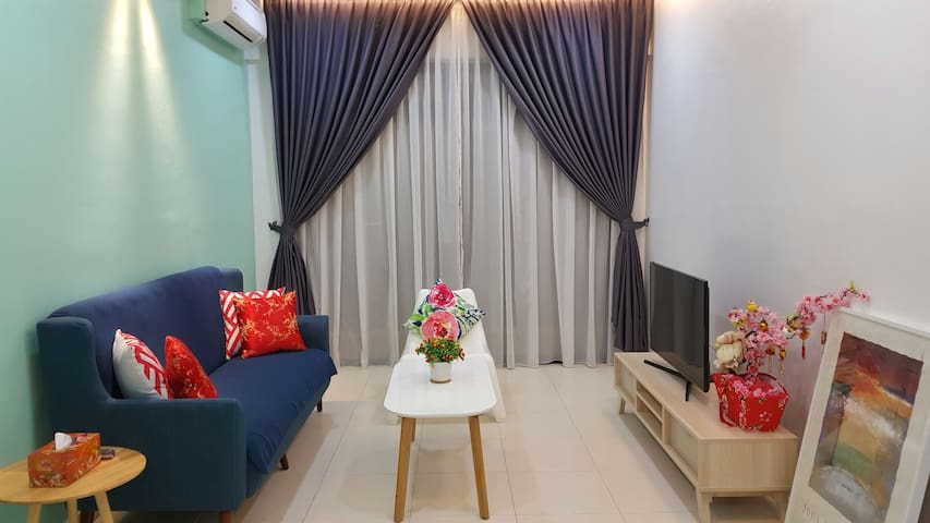 Near Legoland/UTM - 2 Bedroom with mountain view - Skudai - Lejlighed