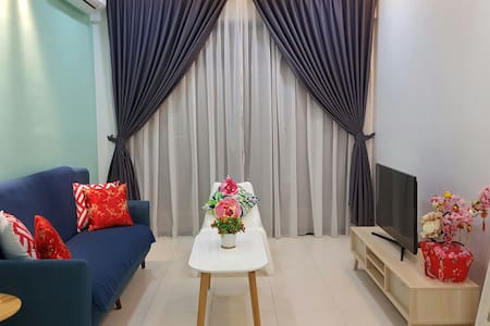 Near Legoland/UTM - 2 Bedroom with mountain view - Skudai - Byt