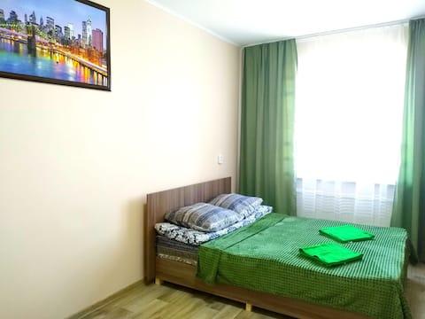 Зелёные апартаменты на ул. Вознесенской