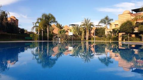 Atlas Golf Resort Garden Apartment & 2 Zwembaden