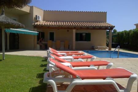 7 Bed Villa, Heated Pool, Sleeps 17 - Sa Coma - Villa