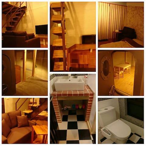 宜蘭田園兩棟三層式雙拼獨立屋(樓中樓、有樓梯)