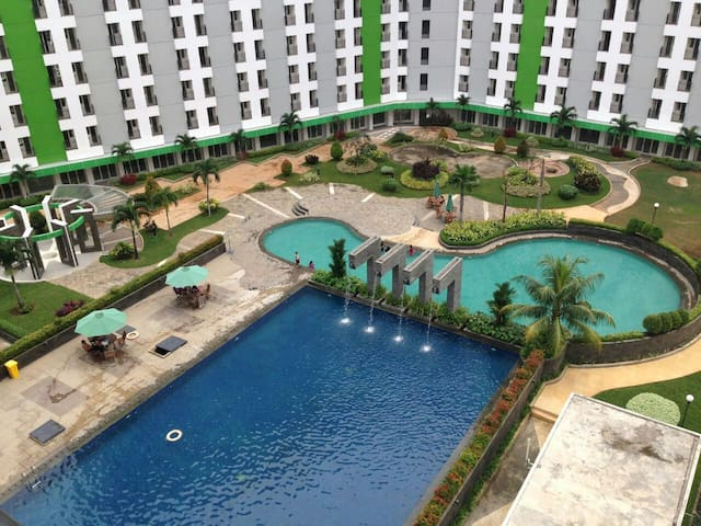 Apartemen harian Green lakeview ciputat - ciputat - Huoneisto