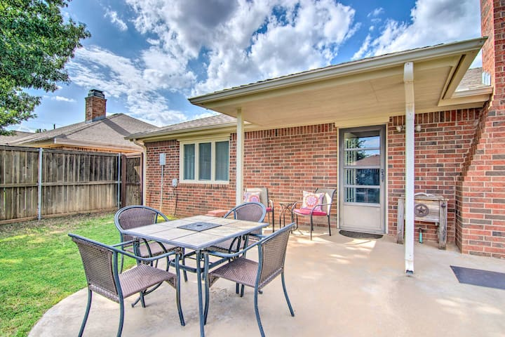 Enjoy a getaway to Lubbock and stay at this spacious 3-bed, 2-bath home.