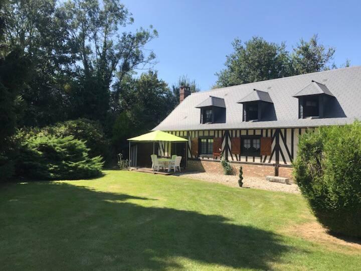 Agréable maison Normande au calme