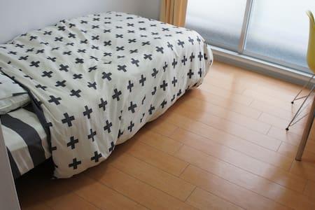駅から徒歩5分ワンルームの個室、2階B号室。阪急正雀駅・JR岸辺駅にも近く、アクセス良好 - Settsu-shi - Huoneisto