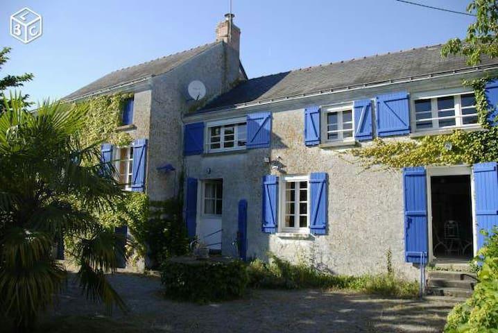 Maison bord de Loire - Montjean-sur-Loire - Rumah