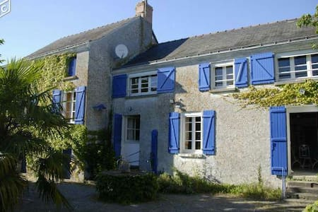 Maison bord de Loire - Montjean-sur-Loire - Huis