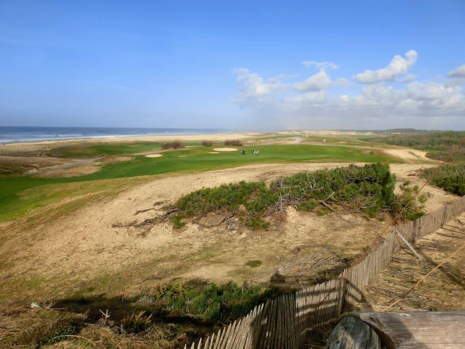 Golf et plage de Moliets