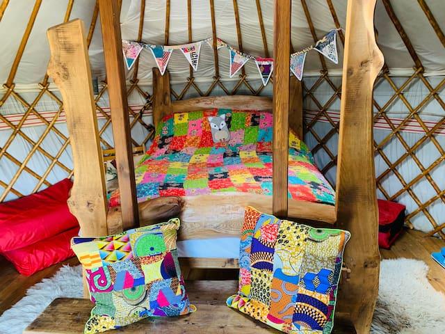 Esk Yurt, a beautiful stargazing yurt