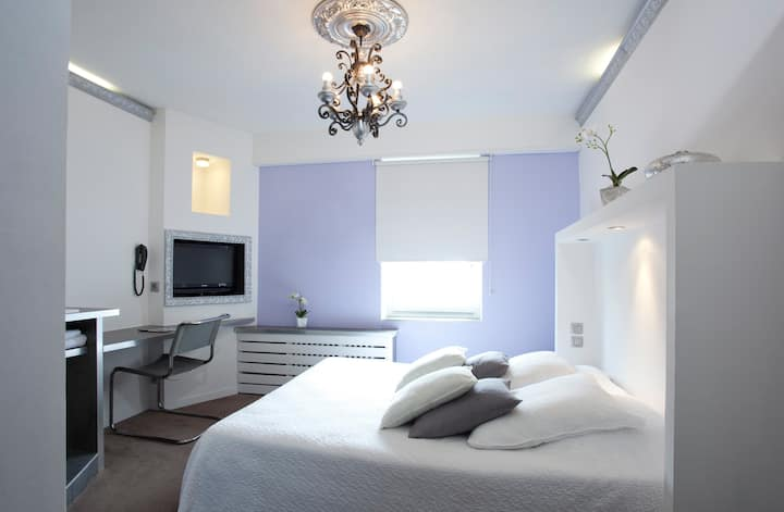 Confort-Double room-Ensuite with Bath-Garden View