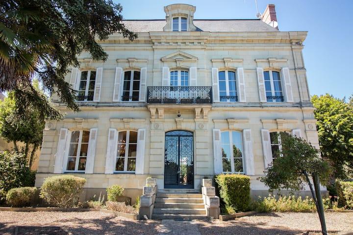 Chambre la Verzée  Au Val des Cèdres près Angers