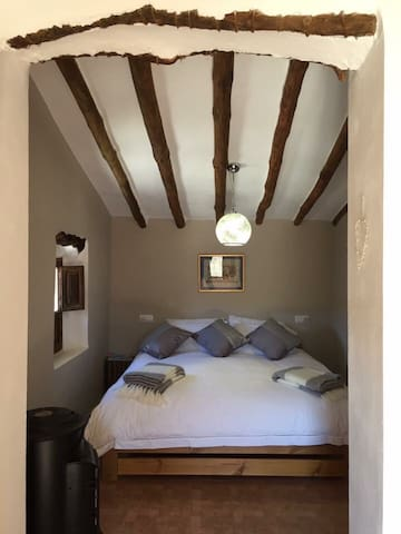 Guest Bedroom with super king bed