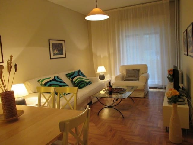 Lovely apartment next Concert Hall, Metro, Wifi - Athina - Flat