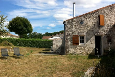 Maison traditionnelle charentaise - Lussac - Huis