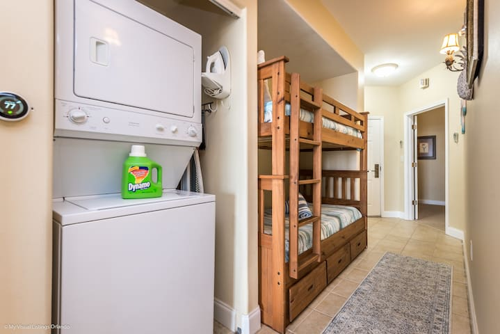 New Bunk beds + washer and dryer