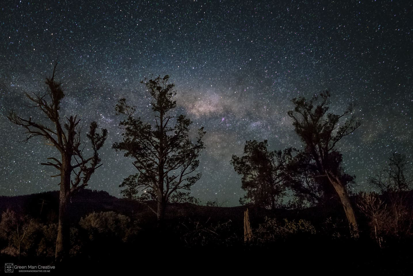 There is no light pollution here. Stunning views of the galaxy awaits you