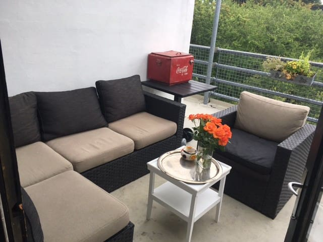 Penthouse with 6 beds and  a fantastic view - Charlottenlund - Apartamento
