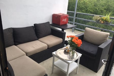 Penthouse with 6 beds and  a fantastic view - Charlottenlund