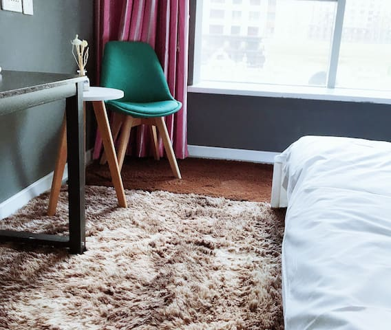 Tiff酒店公寓-ins风网红大床房