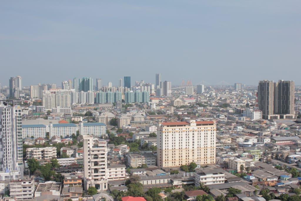 Nice panoramic view