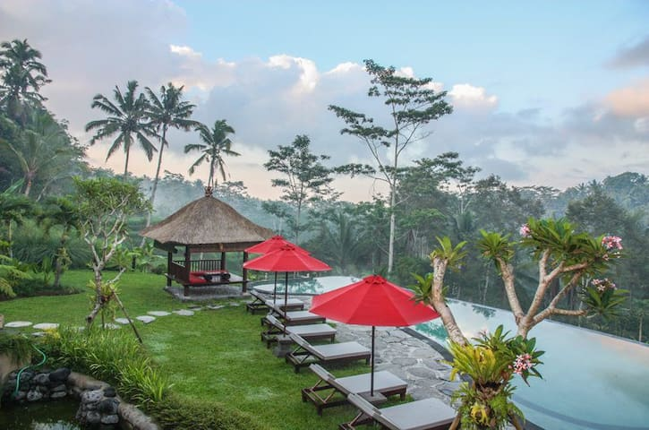 Spectacular 7BR villa with Best View Ubud - Payangan - Villa