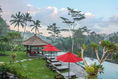 Kembang Bali villa, 7BR with Best View Ubud - Payangan