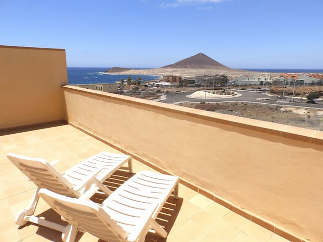 Apartamento de 1 habitación con terraza y vistas