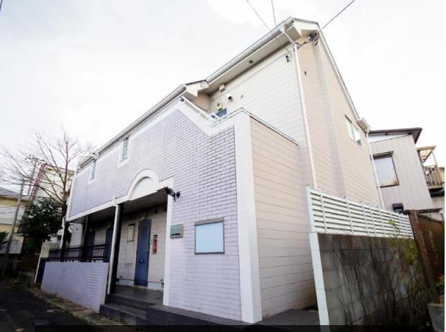 表参道、柏までアクセス良好!隣が新松戸駅!乗り換え無しで一本で行けます。テレビ、冷蔵庫、パソコン付! - Matsudo-shi - Daire