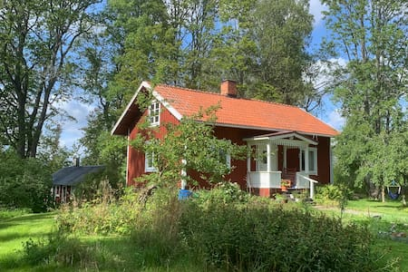 Lovely, quiet country living 40 km from Uppsala