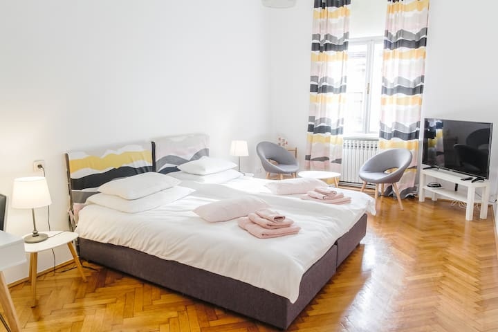 New Studio Apartment in the Heart of Zagreb !