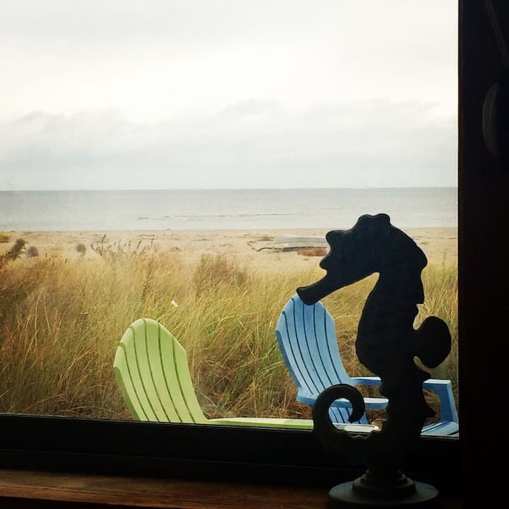 Beachfront, 3 BR Milford Cottage-Spectacular Views
