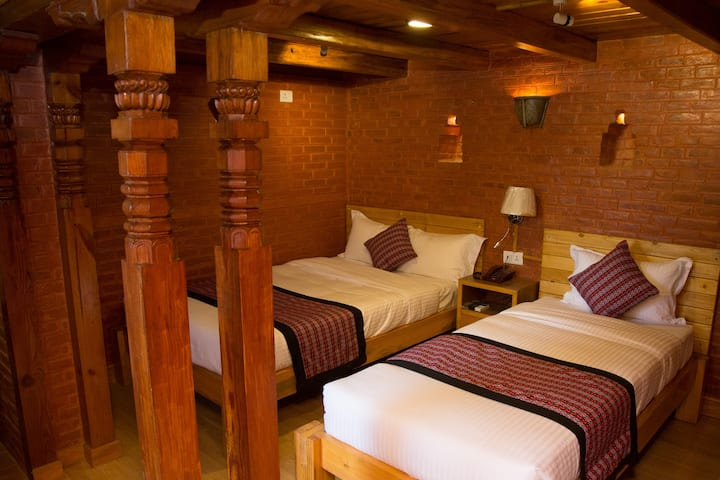 Hotel Baha, a boutique property in Bhaktapur
