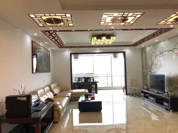 临近机场的上品·春景缘民宿,温馨舒适的中式美宅