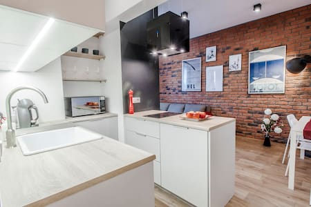 Studio with bedroom, 2+2, at the old town, parking - Gdańsk - อพาร์ทเมนท์