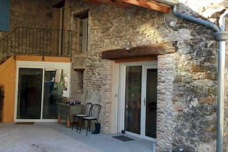 Country house in quiet hamlet - La Bégude-de-Mazenc - Ev