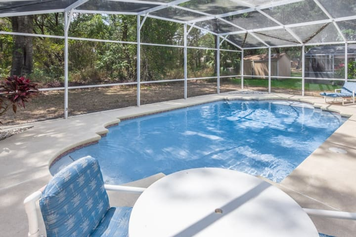 Private Screened in Pool Area - No Rear Neighbors