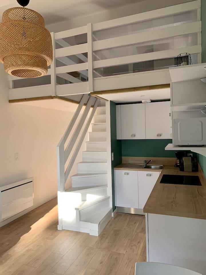 Appartement cosy au calme/ Les bourdaines