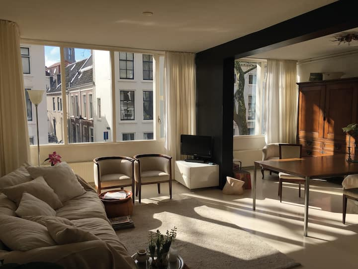 Sunny apartment with roof terrace - Utrecht Centre