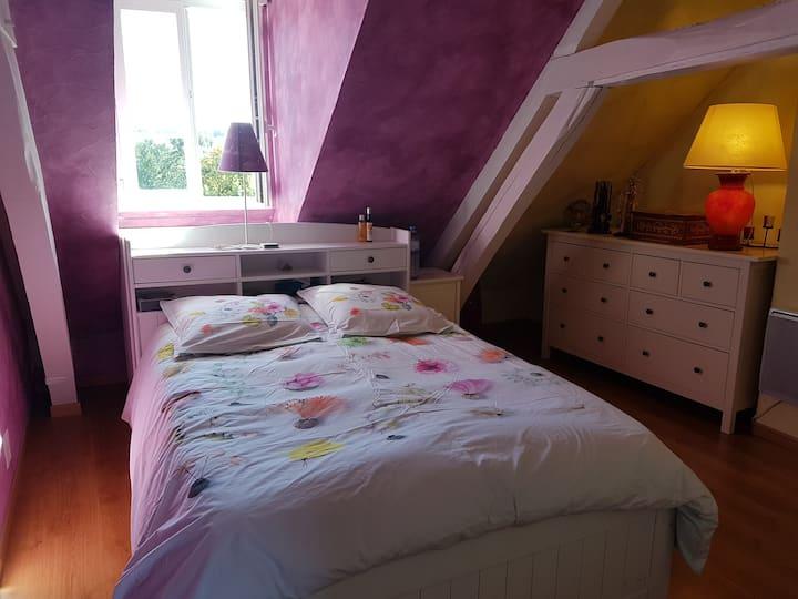 Chambres dans maison de charme/breakfast/ cuisine