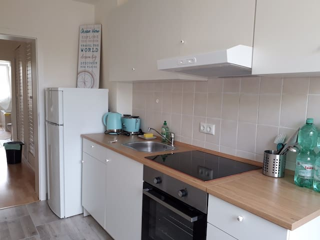 Light quiet Apartment 10 min. from train station