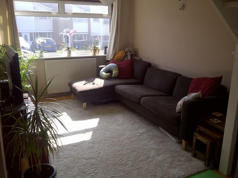 Communal lounge space