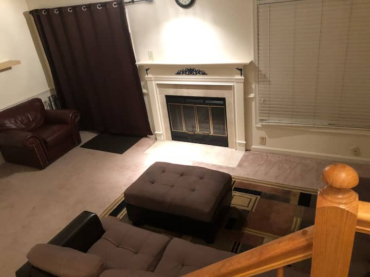 Spacious Private Walkout Basement Apt 30 min to DC