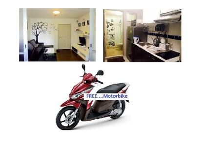 -Captain-Cook@Dcondo Creek Phuket + Free Motorbik - กะทู้
