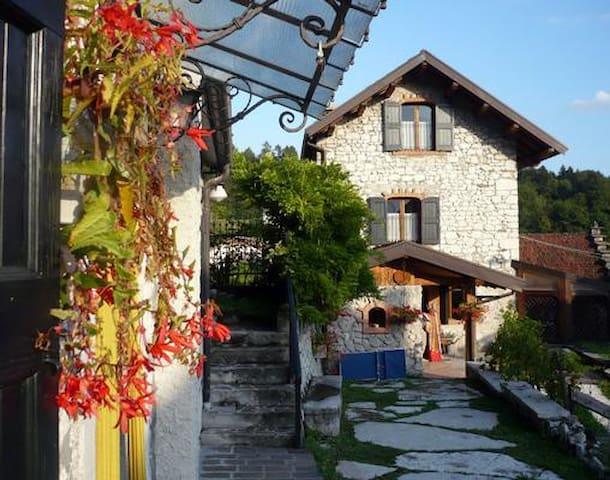 La bella Casa Gingelina in den Dolomiten