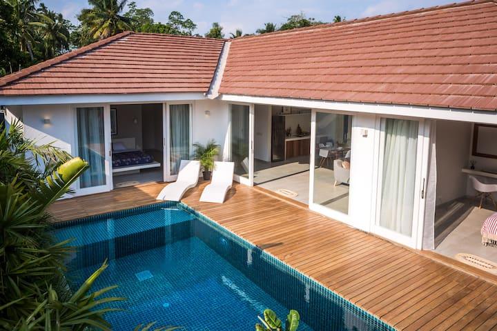 Designer villa with private pool in Ahangama