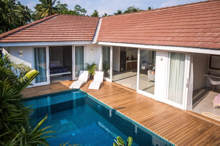 Designer villa with private pool in Ahangama