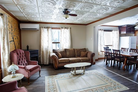 Restored 1930s Apartment in Heart of Madawaska, ME
