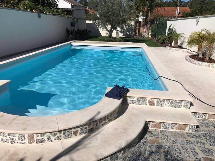 maisons avec piscine privative pour 10 personnes